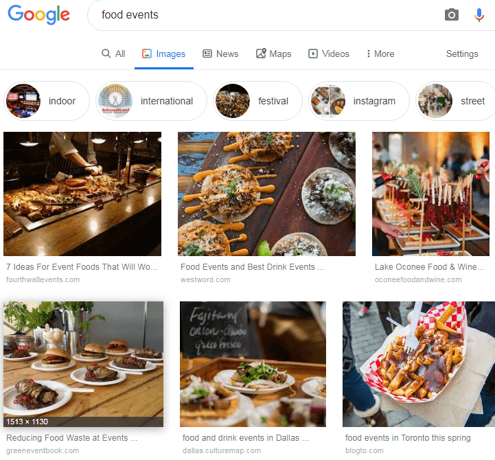 food events images search google